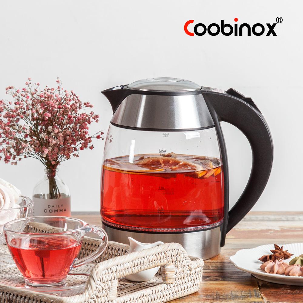 [Coobinox] 1.8L 딤플 티포트